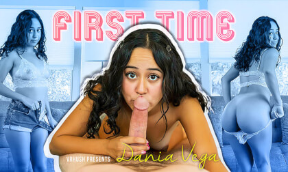 Dania's First Casting - Real Amateur Latina Teen Hardcore