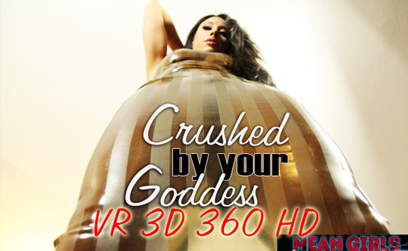 Crushed By Your Goddess - Shaved Mistress Femdom
