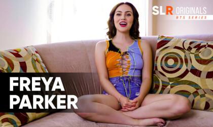 Freya Parker - Interview; Behind the Scenes with Pornstar