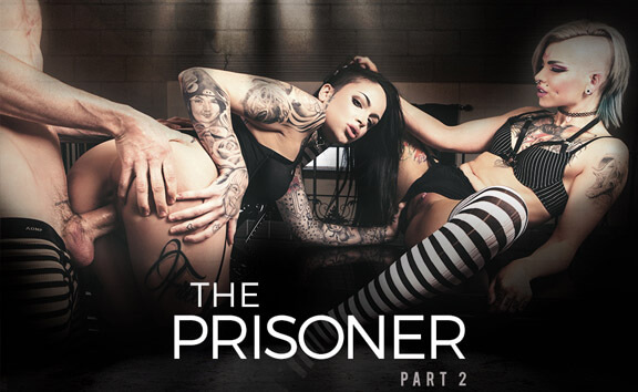 The Prisoner: Part 2 - FFM Goth Threesome