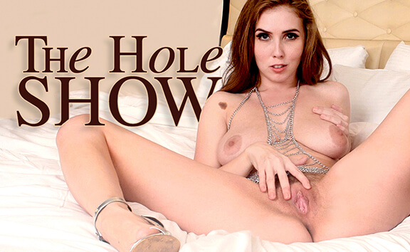 The Hole Show - Part 1 - Solo Model Gets Fingered