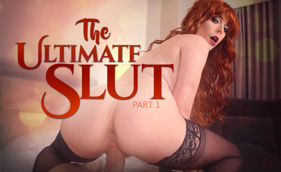 The Ultimate Slut - Part 1 - Busty Redhead Toying