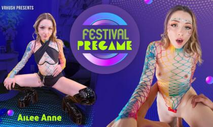 Festival Pregame - Teen Babe Ailee Anne POV Hardcore VR