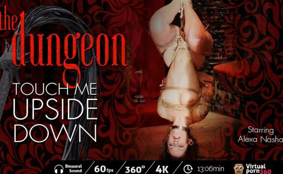 The Dungeon: Touch Me Upside Down - Suspension Rope Bondage
