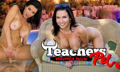 Teachers Pet - MILF with Big Tits Fucks Poolside