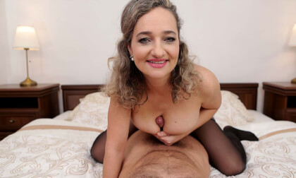 ...A Little Help Here? - POV MILF Riding Dick