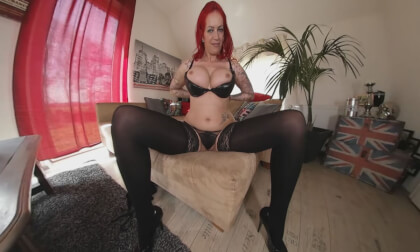 Anica - The Horny Red-Haired Temptation...- Busty MILF Fingers