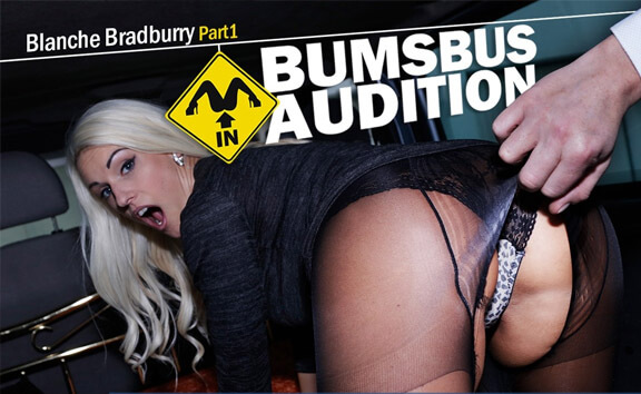 Bumsbus Audition 2 - MILF Fucks in a Car