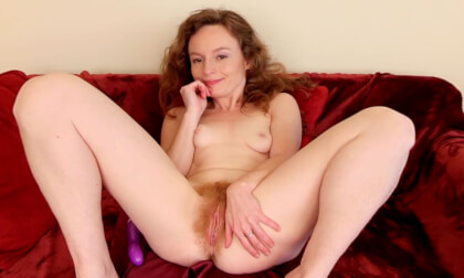 Ana's Glorious Red Muff - Hairy Redhead Toys