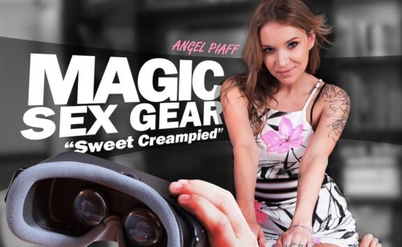 Magic Sex Gear - SILF - POV Shaved Riding