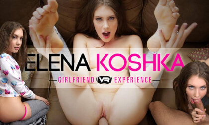 Elena Koshka GFE - Hour Long High Quality VR Porn POV