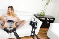 Hand Job Queen Rachel Evans VR porn