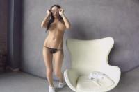 Sporty Brunette Gets Naked VR porn