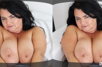 Busty Reny Shows Her Gigantic Boobs VR porn