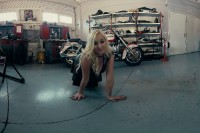 Blonde Stunner Gets Naughty in the Garage VR porn