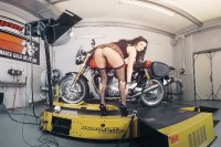 Biker Babe Gets Turned on by a Test Drive VR porn