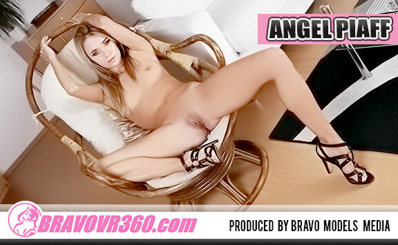 Gorgeous Model Angel Loves to Pose Naked