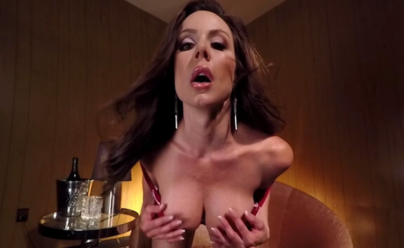 Kendra Lust Topless Lapdance - Pornstar with Big Tits
