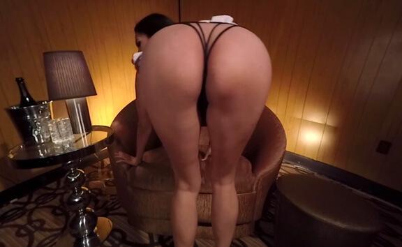 Missy Martinez Topless Lapdance - Naughty Schoolgirl with Huge Tits