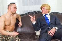 Vladimir The Impaler Putin Nails Melania VR porn