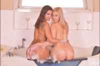 Bubble Bath Pussy Play VR porn