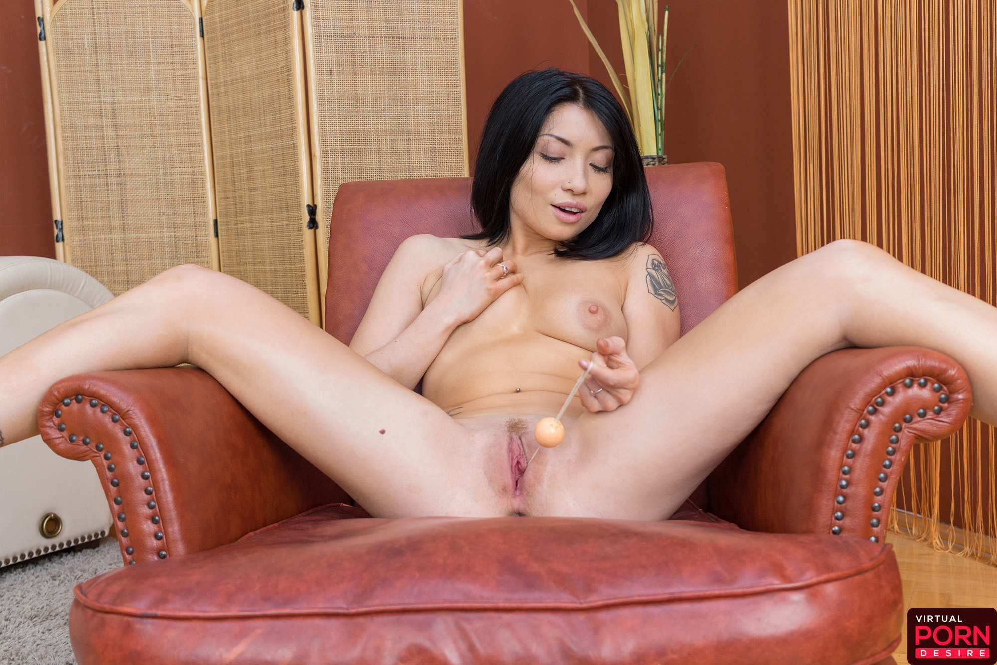 Asian Hottie Tries Out Her New Sex Toys -5603