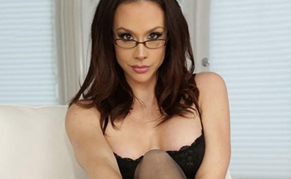 Ms.Triss - Lingerie Glasses Solo Model