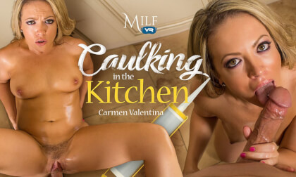 Caulking In The Kitchen