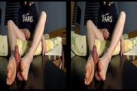 Footjob On The Cockboard VR porn