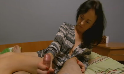Ruined For Punishment - Mature Asian Handjob