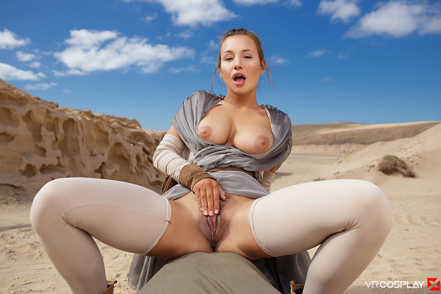 image Vrcosplayx star wars sex parody taylor sands getting banged