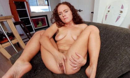 Ruby Wood Loves Herself - Solo Masturbation