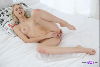 Gentle Blonde Shows Her Passionate Side VR porn