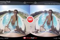 Swimming Pool VR porn