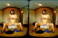 VR Asian Girl With Big Tits Use Her Magic Wand VR porn
