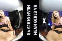 VR Lesbian Strapon POV VR porn