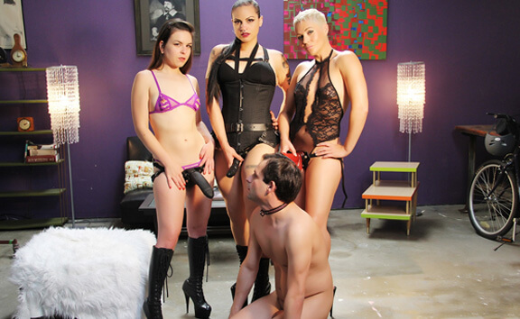 Strap Attack - FFFM Strapon Foursome