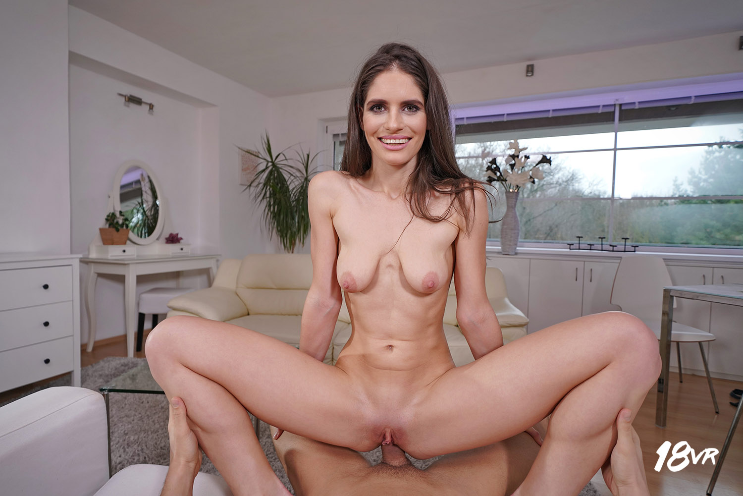 18vr anal fuck in the office with squirting latina veronica 6