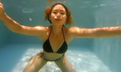 Compilation - 2 Bikini Girls Underwater - Nonnude Underwater Fantasy