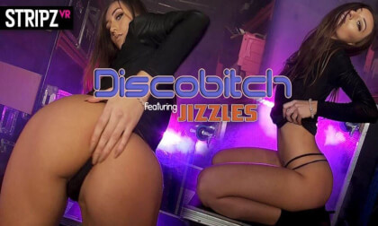 Disco Bitch - Petite Babe Public Nude Dancing