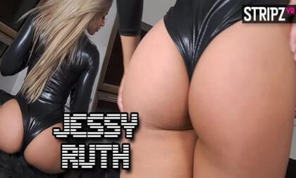 PVC - Busty Blonde Striptease