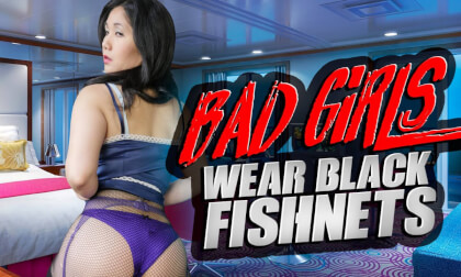 Bad Girls Wear Fishnets starring Amy Jane