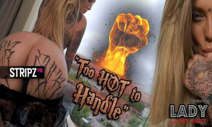 Too Hot To Handle - Tattooed Star Stripper Experience