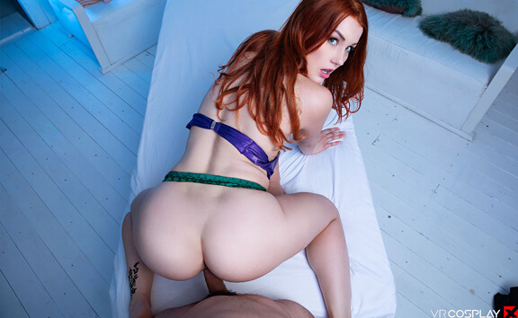 The Little Mermaid A XXX Parody - Gorgeous Redhead Cosplay
