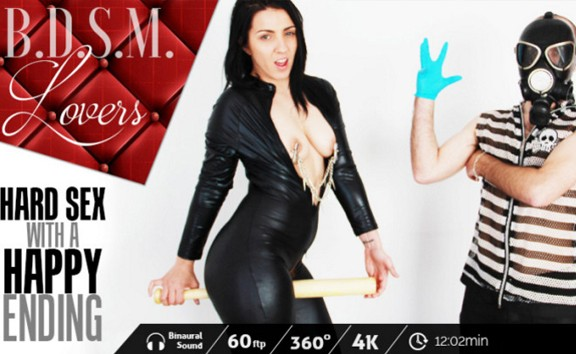 BDSM lovers: Hard sex with a happy ending
