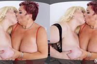 Mature Lesbian BBW Sex VR porn
