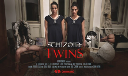 Schizoid Twins - Cosplay Threesome