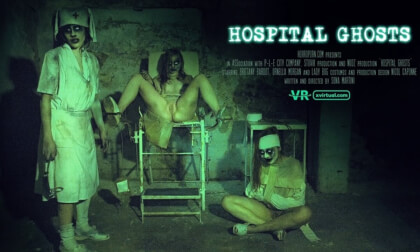 Hospital Ghosts - FFFM Cosplay Foursome
