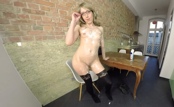 Amateur Chick In The Kitchen