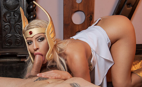 She-Ra A XXX Parody - Blonde Hardcore Cosplay